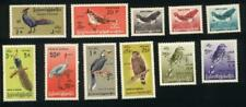 Burma STAMP 1968 ISSUED CV $75 GERMANY BIRDS  SERVICE COMPLETE SET, MNH, RARE