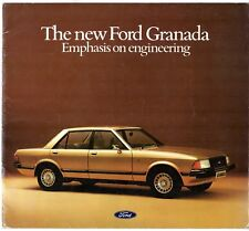 Ford Granada Mk2 1977-78 UK Market Sales Brochure Ghia S GL L Diesel Estate