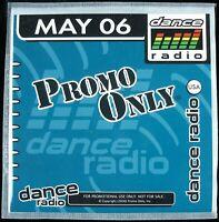 "PROMO ONLY ""DANCE RADIO MAY 2006"" DJ PROMO CD COMPILATION 21 TRACKS *NEW*"