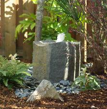 Outdoor Water Fountain Waterfall Rock Pond Bird Bath Garden Patio Home Backyard