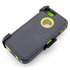Apple iPhone 5s 5se Case & Screen Protector | Belt Clip fits Otterbox Defender