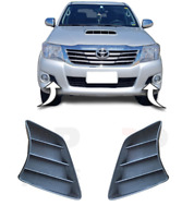FOR TOYOTA HILUX 2012 - 2016 NEW FRONT BUMPER LOWER SIDE GRILLE PAIR SET