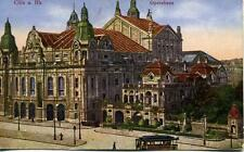 Cöln am Rhein Opernhaus Opera House Tram Germany unused 1920s postcard