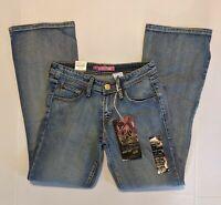 Levi's 518 Low Rise Women's Juniors Boot Cut Stretch Jeans Size 5M / 27  #1018