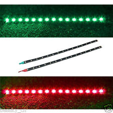 2x Boat Navigation LED Lighting 12V DC RED & GREEN Waterproof Marine LED Strips