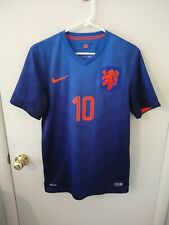 Nike Wesley Sneijder Holland Netherlands 2014 World Cup Purple Jersey Shirt S