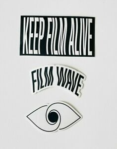 The Film Wave Sticker Pack
