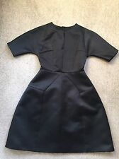DICE KAYEK Rose Label chic robe noire taille 36 V Cou