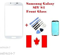 WHITE Replacement Front Screen Glass Lens For Samsung Galaxy S4 SIV i337 +Tools