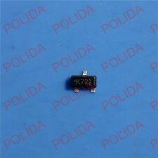 100PCS MOSFET CHANGJIANG/PANJIT SOT-23-3 2N7002K 2N7002KT/R 2N7002K T/R K72