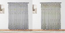 Best Home Floral Spring Rod Pocket Panel Pair, Exquisite Floral Lined Drapes