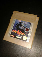 * Nintendo Gameboy Game * MORTAL KOMBAT II 2 * game boy