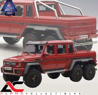 AUTOART 76304 1:18 MERCEDES BENZ G63 AMG 6X6 RED