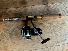 Vintage Abercrombie And Fitch Co. Telescopic Fishing Rod w/ Daiwa Reel
