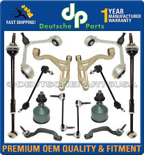LINCOLN LS Front Rear Control Arm Ball Joints (14mm) Tie Rod Suspension Kit 14pc