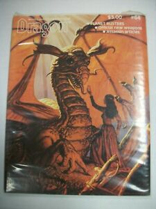 TSR DRAGON #64 August 1982, Vol. 7 #2, Planet Busters