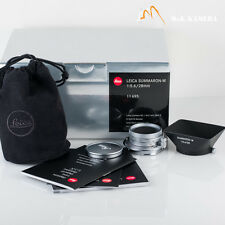 Brand New Leica Summaron-M 28/5.6 28mm f/5.6 E34 11695 Germany New Released