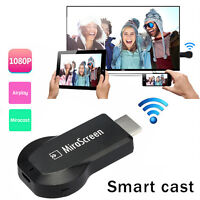 Wifi HDMI Adapter to TV Mirascreen Audio Video Media Streamer For iPhone Android