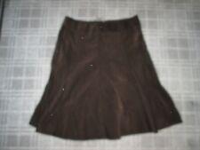 JONES NEW YORK-LADIES Vintage Corduroy RETRO Skirt Size 14-16 SPORT ALINE FLARE