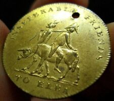 New listing 1814 Napoleon on Ass with Devil Token Medal Excellent