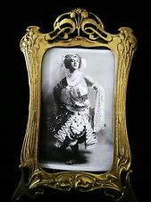 SUPERB ORIGINAL ART NOUVEAU, , HEAVY BRASS, PHOTO FRAME