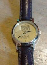 Vintage Kodak Olympics special sponsor ladies watch, running new battery NR L