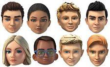 Thunderbirds are go variété pack 8 2D carte visage masques-party event dress up
