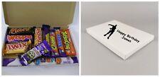 Personalised Fortnite 10 Chocolate Bar Sweets Gift Box Hamper Birthday