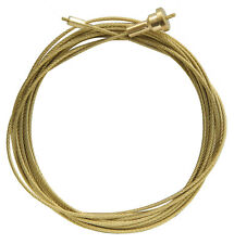 New Hermle Pre-Cut Brass Clock Weight Cable with End Fittings - 4 Sizes!