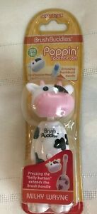 """NEW ~ BRUSH BUDDIES ~ """"POPPIN TOOTHBRUSH ~ CHOOSE 1 or ALL ~ 1+ SHIP"""