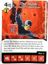 Green Arrow Flash * FOIL * THE ATOM Matter Compression #77 DC Dice Masters card