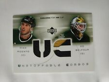 2001 UD Challenge For The Cup Unstoppable Combos Mike Modano Ed Belfour #UC-MB
