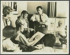 Thomas Crown Affair at the precinct with sketch artist 1968 movie photo 496