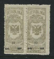 Albania Albanien 1930 Tobacco Tax Revenue Stamps Mint Nh*