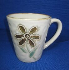 "Pier 1 ""Petals"" Mug ~ Hand Painted Floral ~ Coffee Tea ~  Excellent Condition"