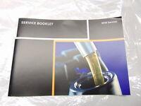 NEW GENUINE MINI R50 R52 R53 SERVICE BOOK BOOKLET 01410012673
