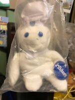 Pillsbury Doughboy Bean Bag Doll 8""
