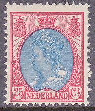 NVPH 71 Koningin Wilhelmina Ongebruikt / MH   E-2027