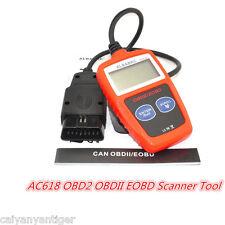 Car Fault Code Reader Scan Diagnostic Tool AC618 OBD2 EOBD Scanner Data Tester