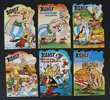 1981 Fher ASTERIX full set of 6 short TALES Spanish new old store stock VHTF
