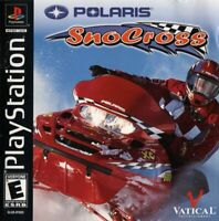 Polaris SnoCross Playstation 1 Game PS1 Used