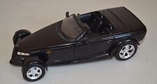 USED MOTOR MAX 1/18 BLACK CHRYSLER HOWLER CONCEPT DIECAST CAR PROWLER?