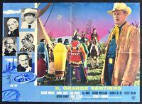 Poster S04 der große Trail Richard Widmark Carroll Bäcker B