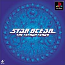 Used PS ONE STAR OCEAN: The Second Story PS 1 SONY PLAYSTATION JAPAN IMPORT
