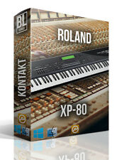 ROLAND XP-80 XP 80 LIBRARY LOGIC PRO KONTAKT MPC WAV SAMPLES MAC PC