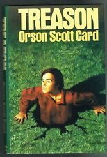 Treason by Orson Scott Card (1988, Hardcover )   INSCRIBED.