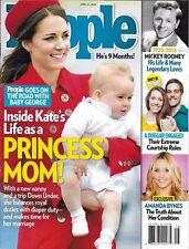 People magazine Kate Middleton Mickey Rooney Amanda Bynes Hollywood homes