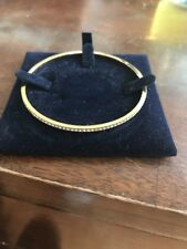 Swarovski Gold Bracelet / Bangle Boxed Fine Costume Jewellery