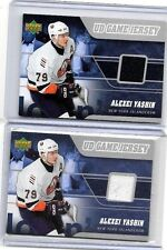 """ALEXEI YASHIN 2006-07 UPPER DECK """"UD GAME JERSEY GAME USED JERSEY~ NYI"""