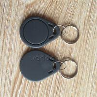 10PCS 13.56MHz Grey RFID Sensor Proximity Card IC Key Tags Keyfobs Keychain